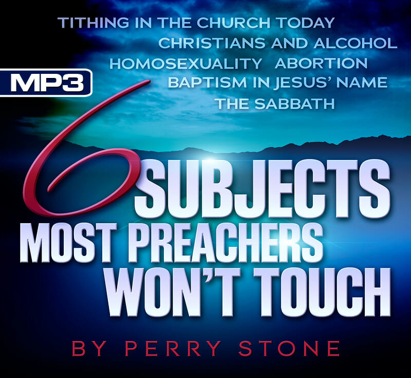 DL6SUB - MP3 Six Subjects Most Preachers Won't Touch Series-0