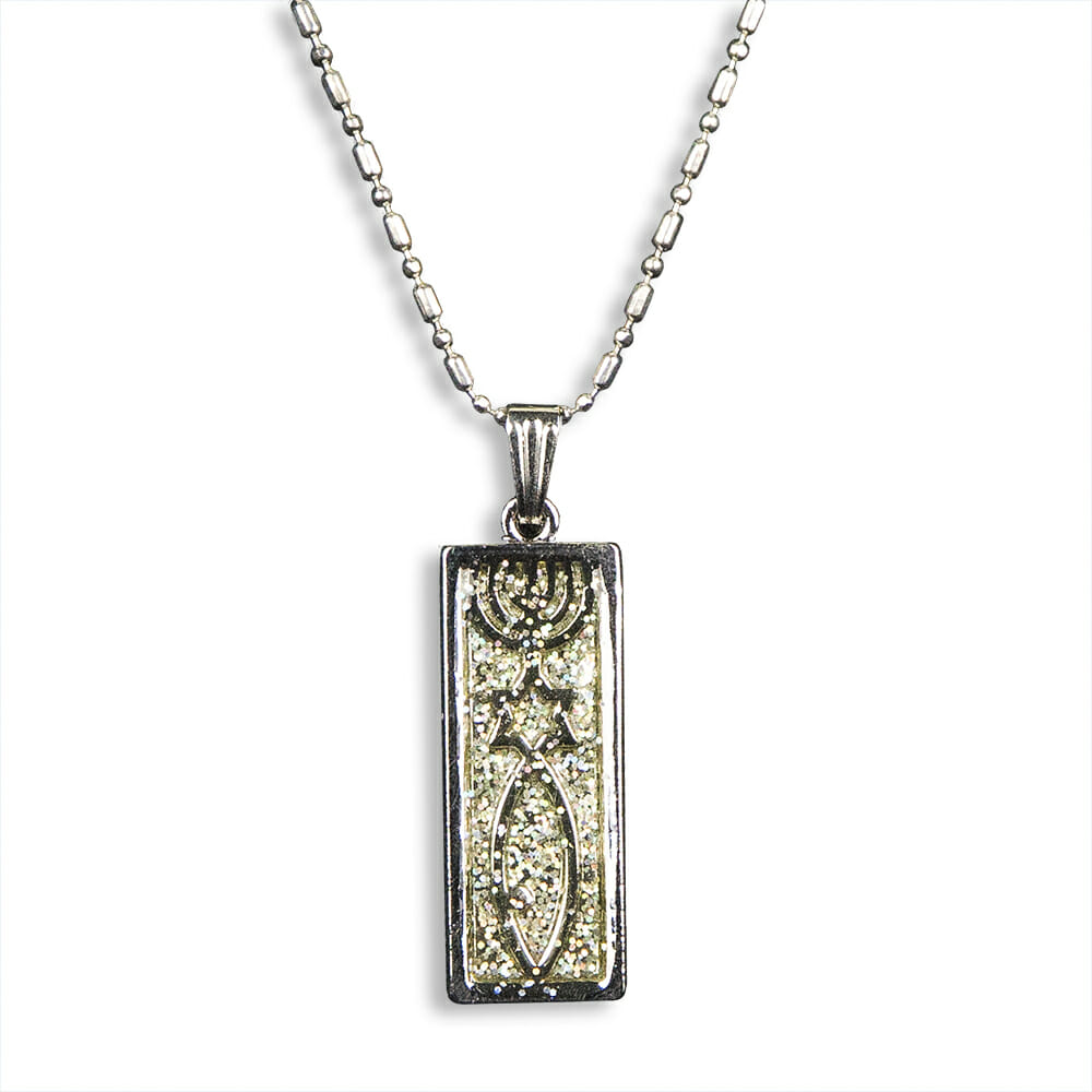Messianic Seal Bling Necklace-0
