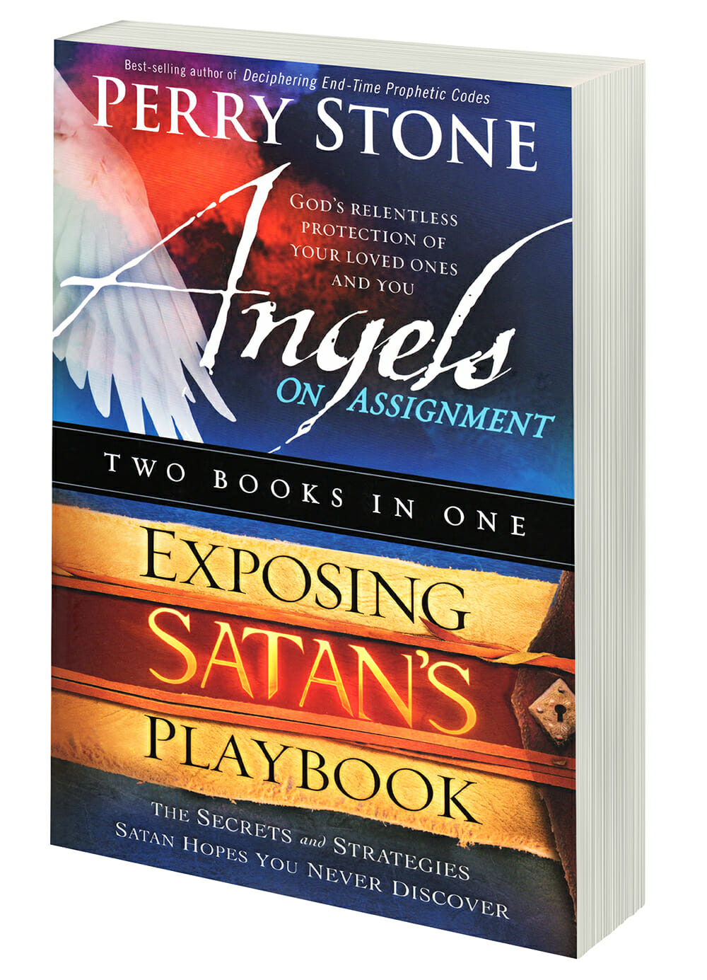 2N1 Angels on Assignment and Exposing Satan's Playbook (2 Top Selling Books in 1)-3491