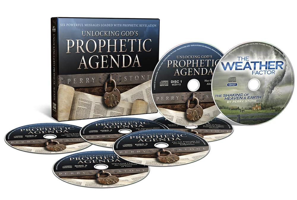 God's Prophetic Agenda Pkg-3698