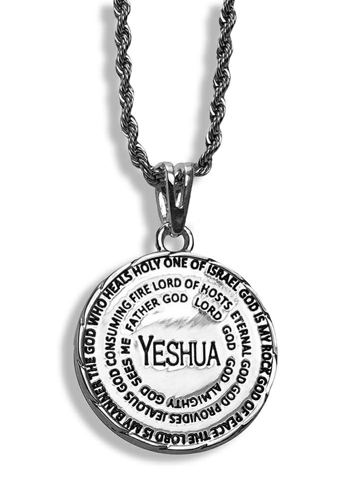 Names of God Necklace -0