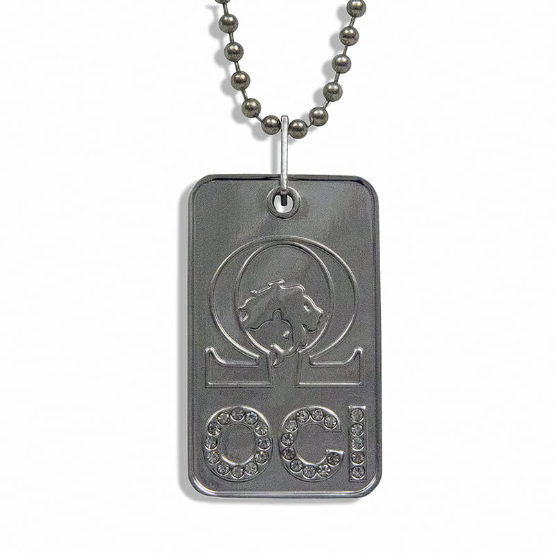 OCI Dog Tag Necklace-0